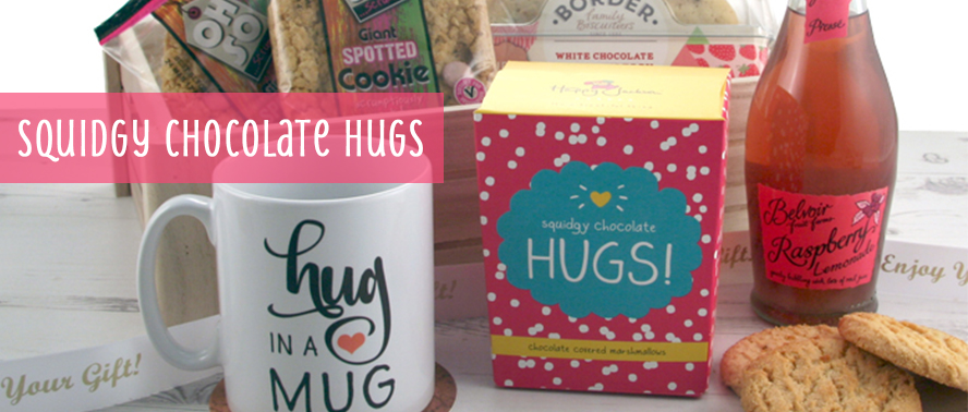 New Hamper at Smart Gifts:  Squidgy Chocolate Hugs... a great get well soon gift to send to a hospital patient...