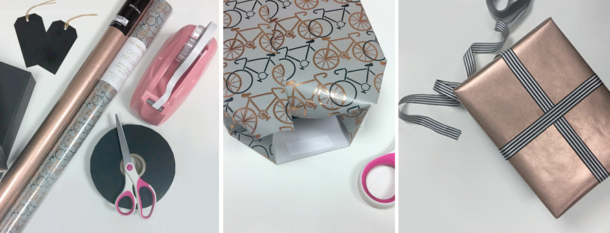 Hints to perfect your gift wrapping...