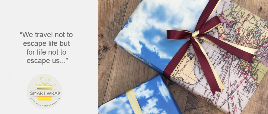 Gift Wrapping Ideas and Inspiration for Travellers and Graduates...