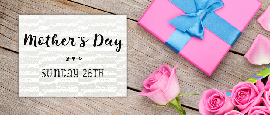 Mothering Sunday is March 26th this year...