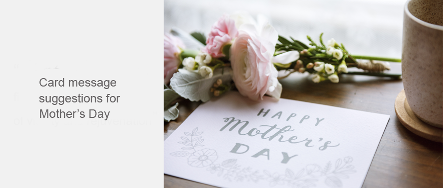 Wording for Mothers Day Card Messages - inspiration for cards...