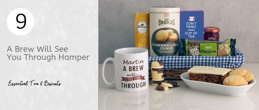 Essential Tea and Biscuits for a housewarming gift...