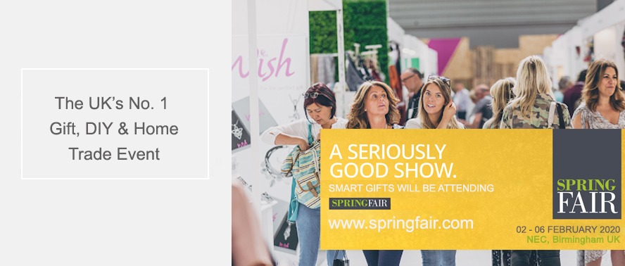We're excited about the upcoming Spring Fair at the Birmingham NEC...