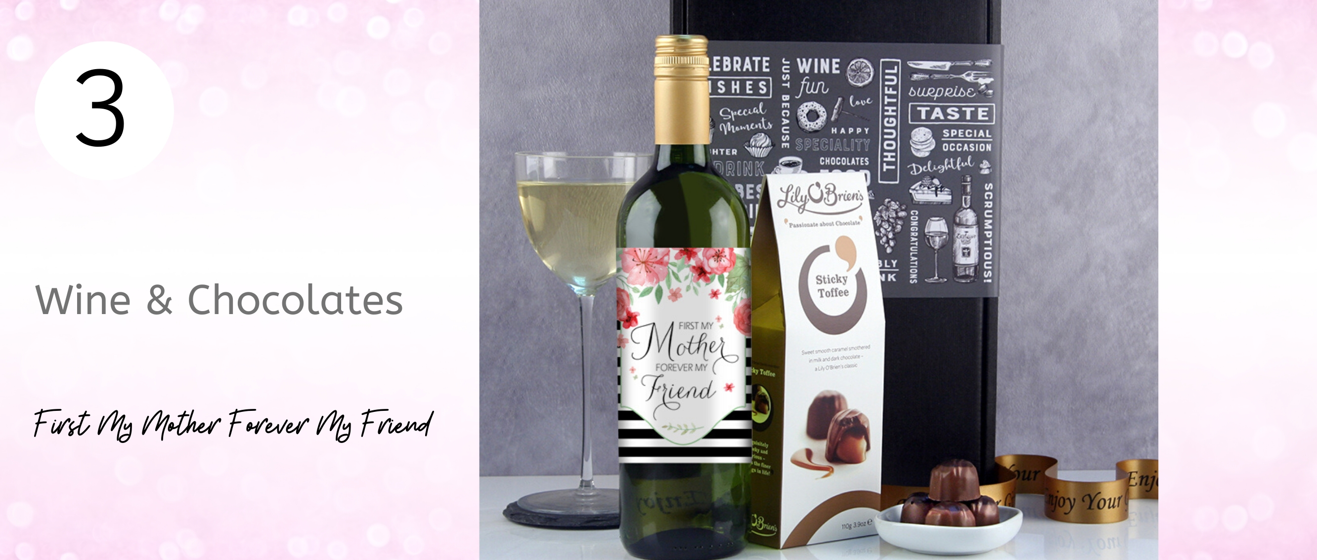 First My Mother Forever My Friend Gift Ideas for Mother's Day
