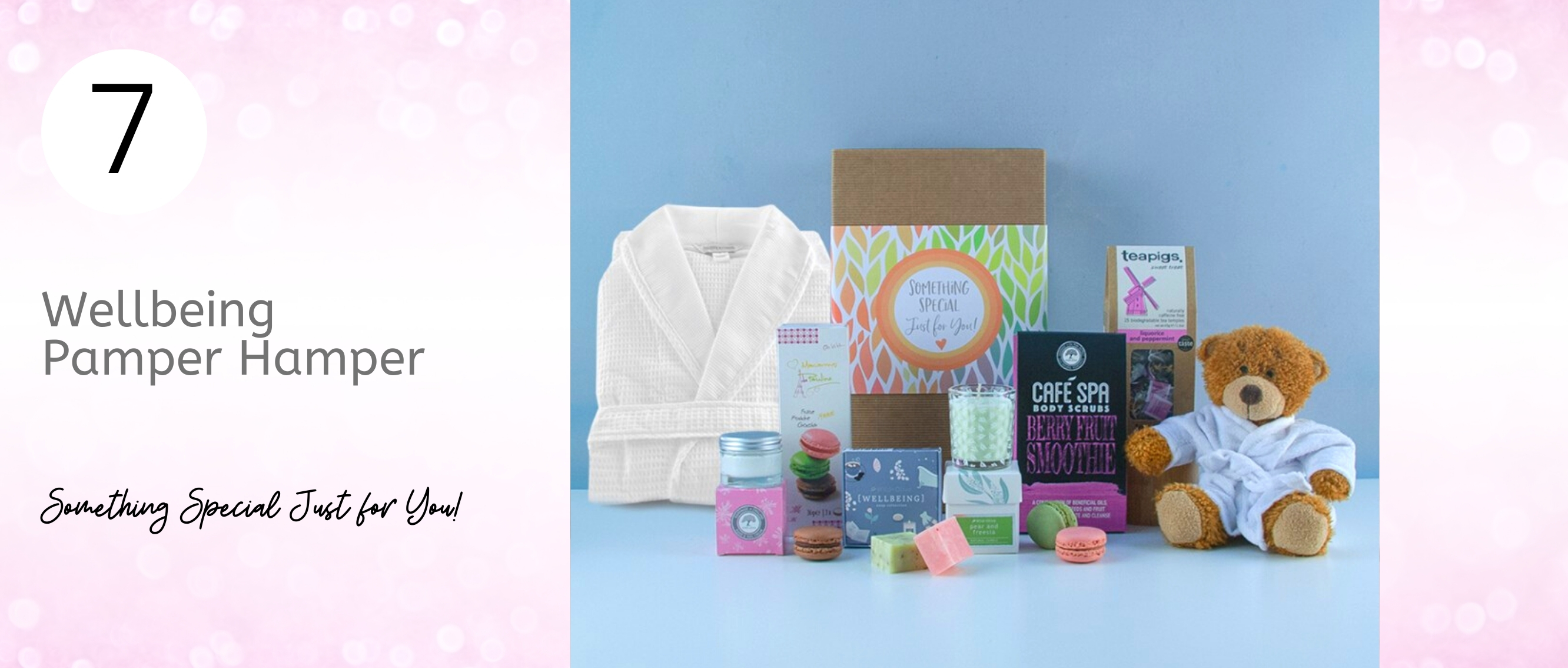 Bring the spa to Mum with this Wellbeing Pamper Hamper...