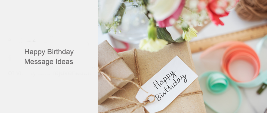 Birthday Message Ideas - a little inspiration for your cards...