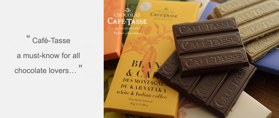 Cafe-Tasse Chocolate - New to Smart Gift Solutions... a delicious artisanal chocolate