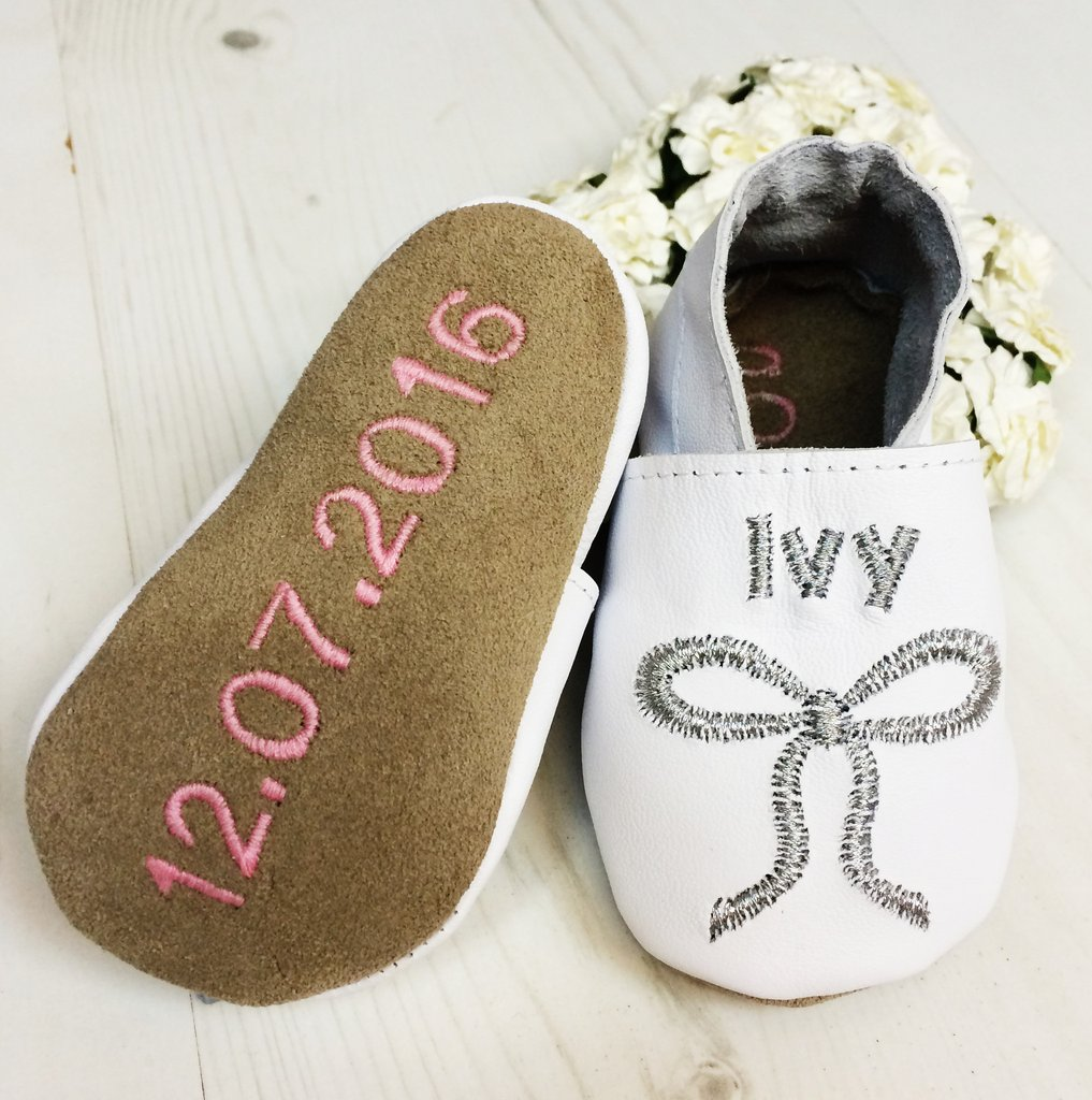 Personalised Christening Shoes