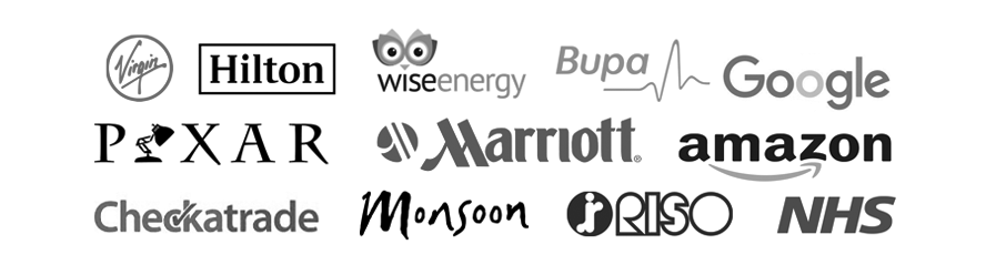 Just some of the companies we have worked with...