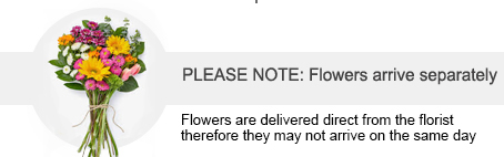 Advice about your flower delivery... UK Mainland Only. We also delivery separately but it will be on the same day...