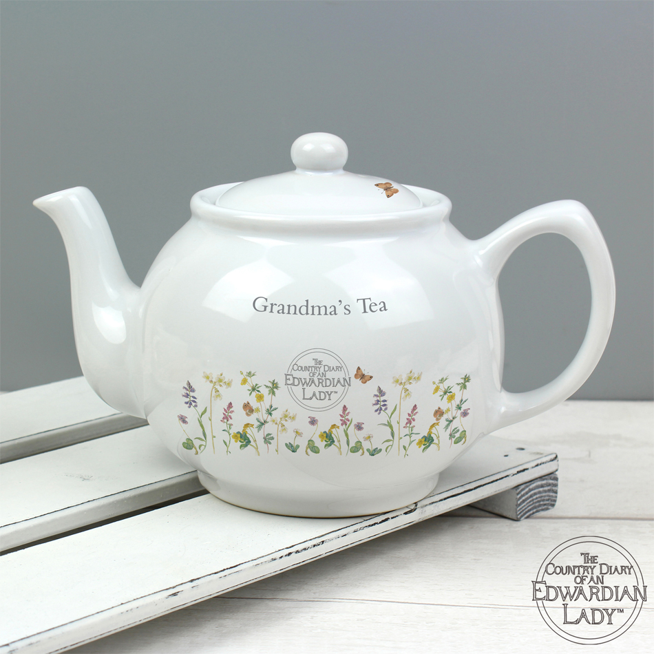 Top Gifts for Nan -  Personalised Grandma's Teapot by Country Diary