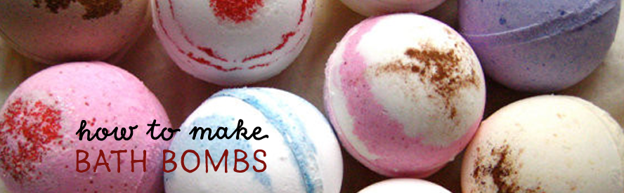 How to make bath bombs with essential oils...