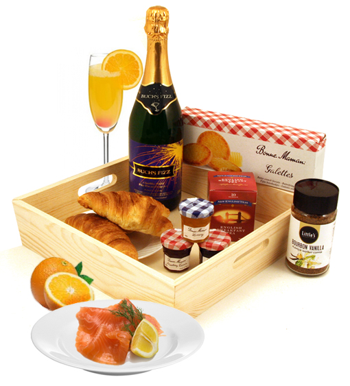 Celebrate Your 5th Wedding Anniversary with a Champagne Celebration Breakfast...