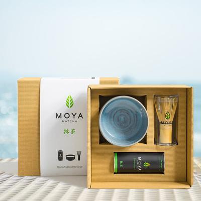 Matcha tea gift set for vegan mums...