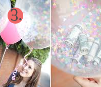 Money Balloon Gift Idea for Wedding and Birthday Gifts