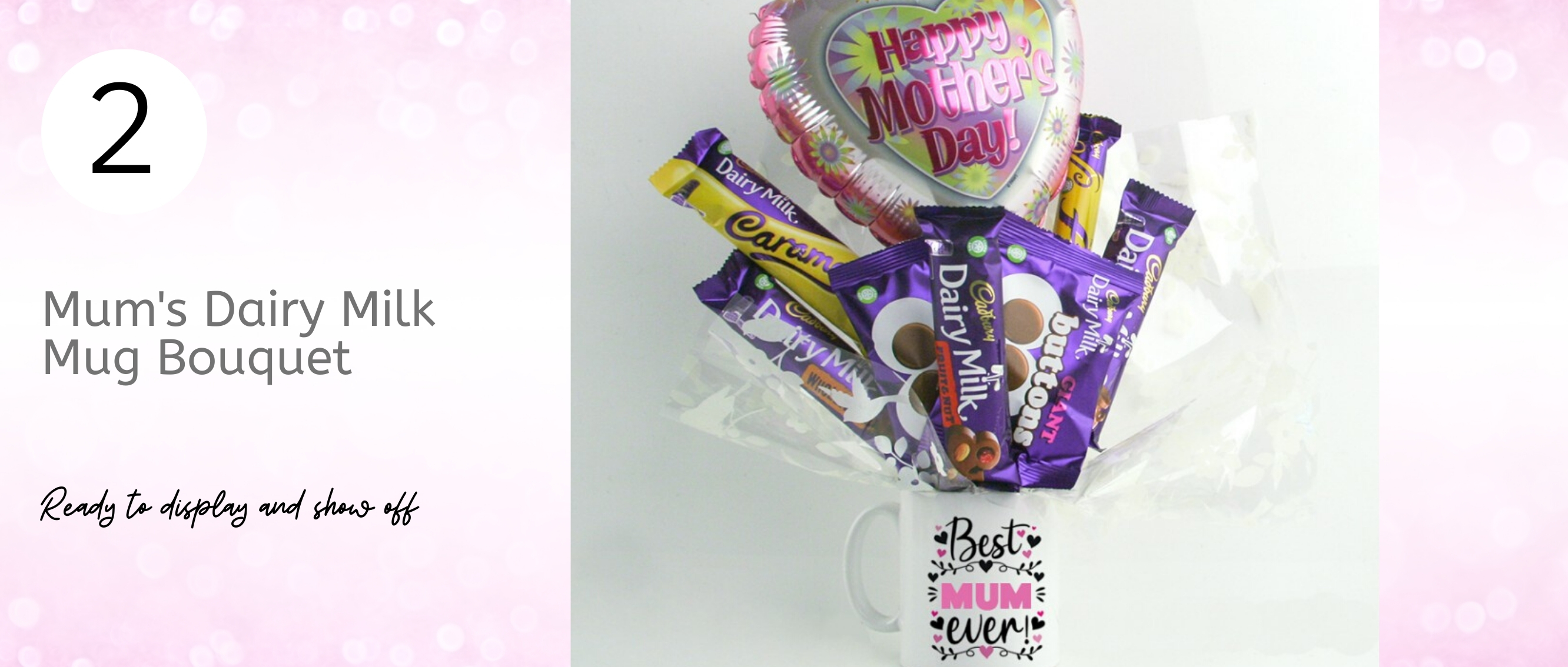 Mother's Day Dairy Milk Chocolate Bouquet