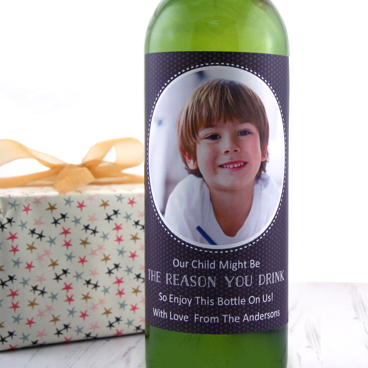 Teacher Gift Idea... Our Child Might Be the Reason You Drink!