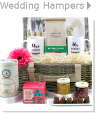Mr and Mrs Wedding Hampers with Food and Drink