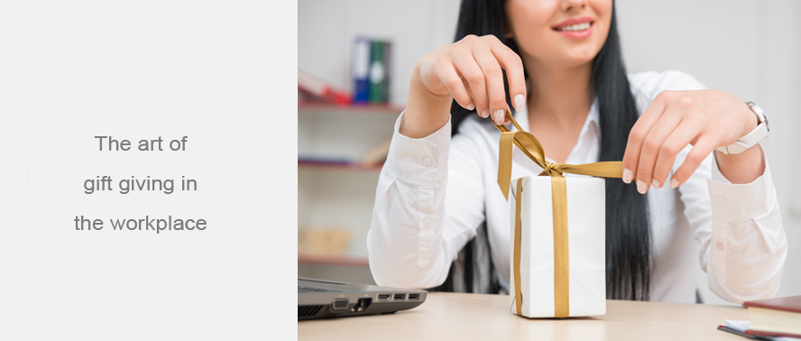 The art of gift giving in the workplace... discover more unique corporate gifts for staff and clients!