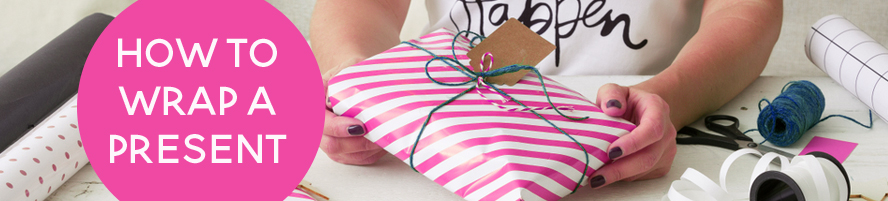 How to Wrap Gifts with these three simple techniques...
